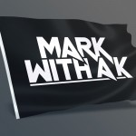 Mark With A K Flag